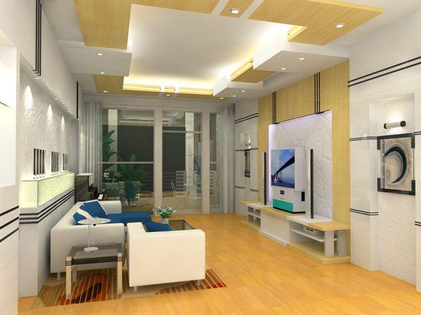 Hình ảnh mẫu trần thạch cao cho Phòng Khách hiện đại đẹp nhất 2020