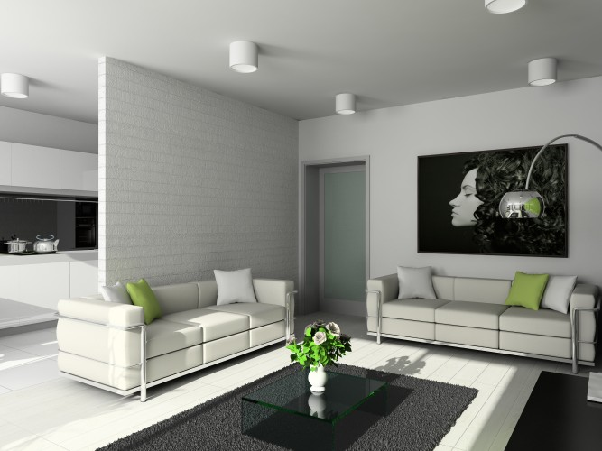 Hình ảnh mẫu vách ngăn thạch cao phòng khách, phòng ngủ đẹp nhất