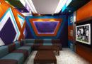 Mẫu trần thạch cao karaoke thiết kế phòng hát đẹp độc và lạ