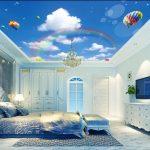 Giá ốp Tấm trần thạch cao 3D giật cấp trọn gói 2021 theo m2 Tại hà nội và tphcm SÀi gòn