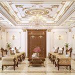 Các mẫu la phông thạch cao đẹp cho phòng khách phòng ngủ hiện đại đơn giản 2021